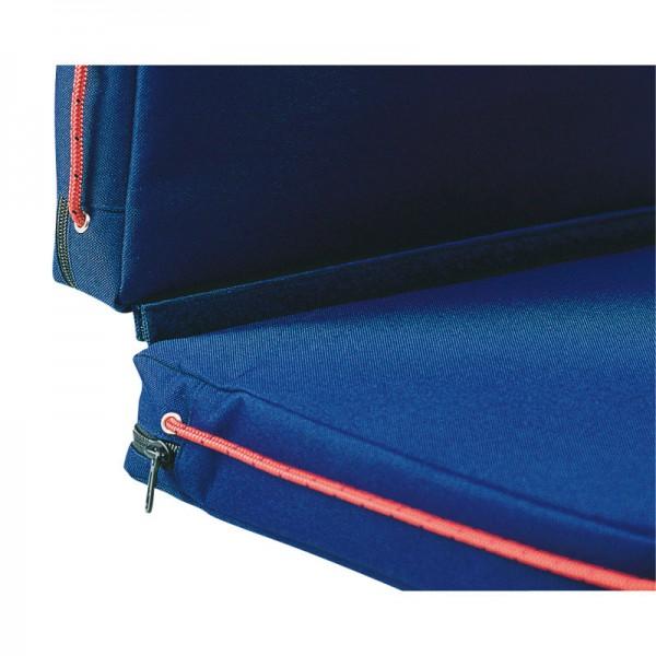Doppel Schwimmkissen Blau für viel Sitzkomfort