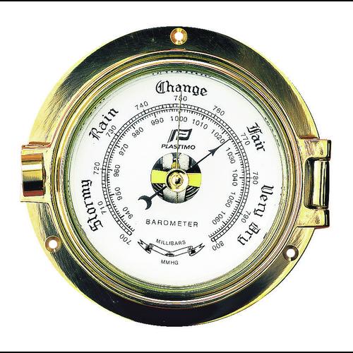 """Barometer 3"""" aus poliertem Messing"""