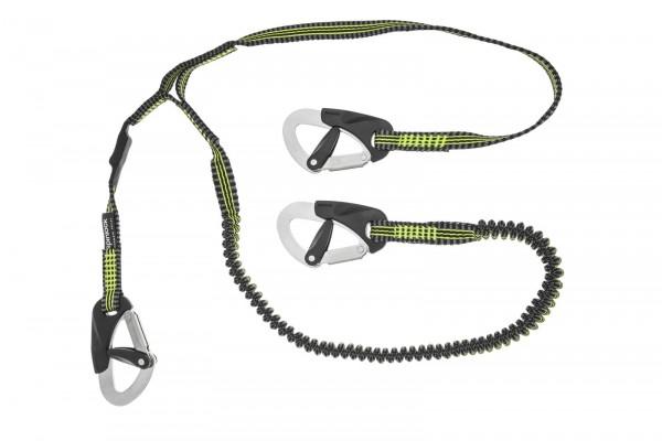 Spinlock, 3-Clip Race-Sicherheitsleine, 1 elastischer Strang