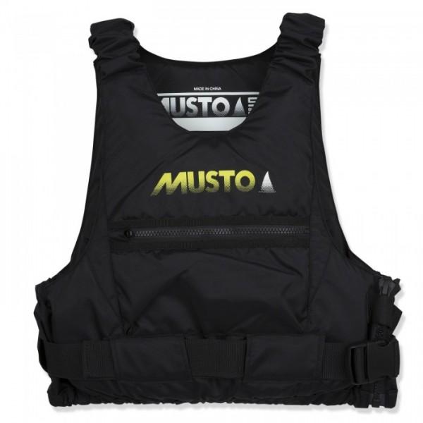 Musto, Championship Auftriebshilfe - Regattaweste, schwarz, Auftrieb 50 N