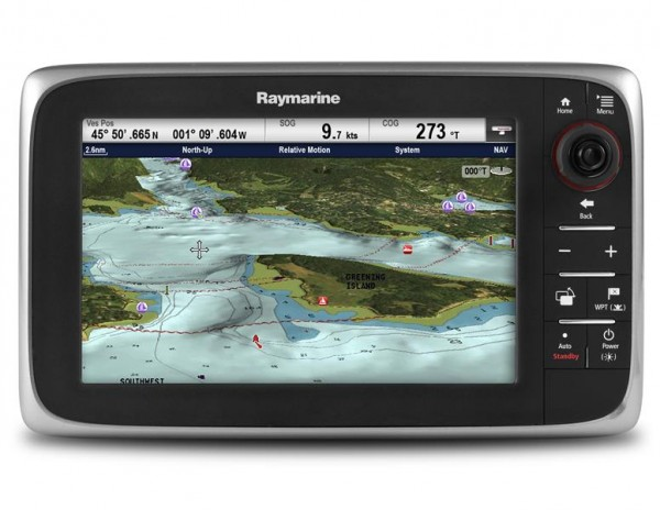 Raymarine c97 Multifunktionsdisplay/Fishfinder 9""
