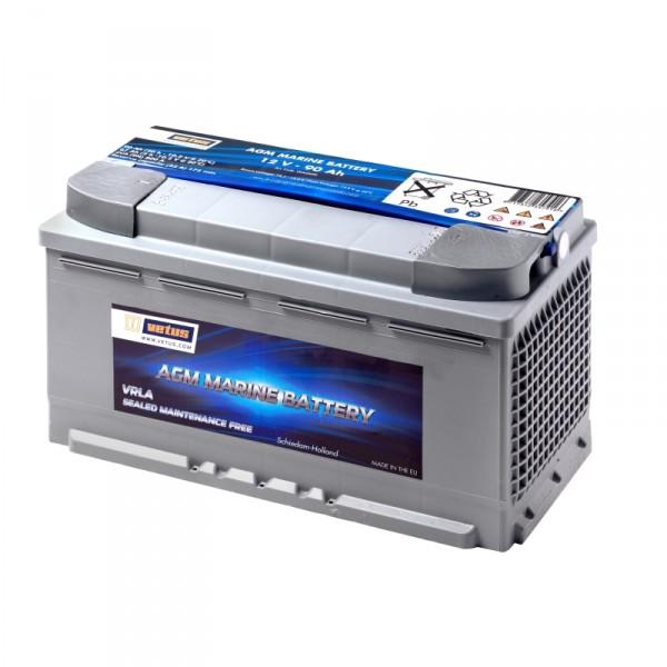 Vetus AGM-Batterie 12V/90Ah