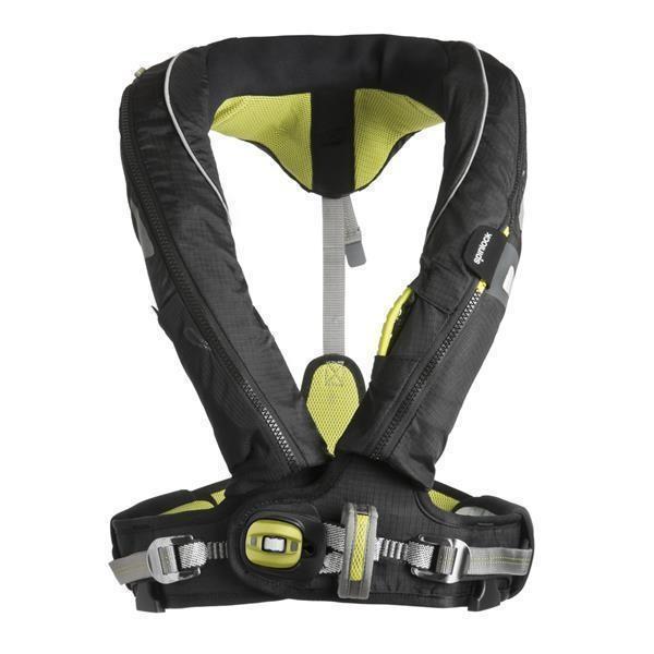 Spinlock, automatische Rettungsweste, DeckVest 170N Pro Sensor Harness