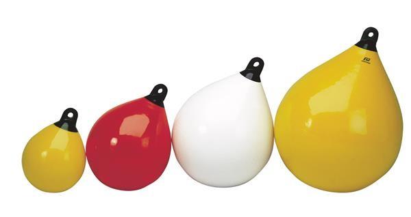 Plastimo, Kugelfender, Schwarz-Weiß verschieden Größen