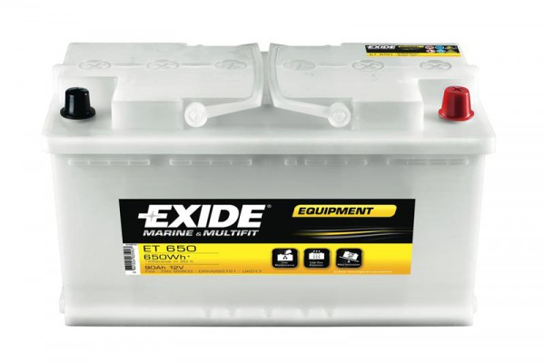 Exide Equipment Semi Traction Säurebatterie ET700-6, 190 Ah