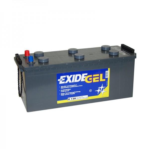 Exide Gel Batterie ES 1350, 120Ah, 1350Wh, 12V, (ex G120)